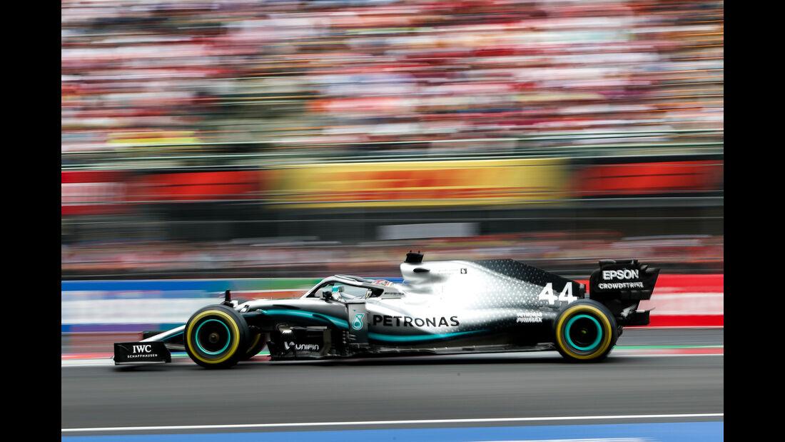 Lewis Hamilton - Mercedes - Formel 1 - GP Mexiko - 26. Oktober 2019