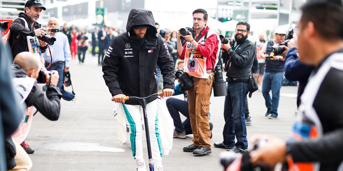 Lewis Hamilton - Mercedes - Formel 1 - GP Mexiko - 27. Oktober 2018