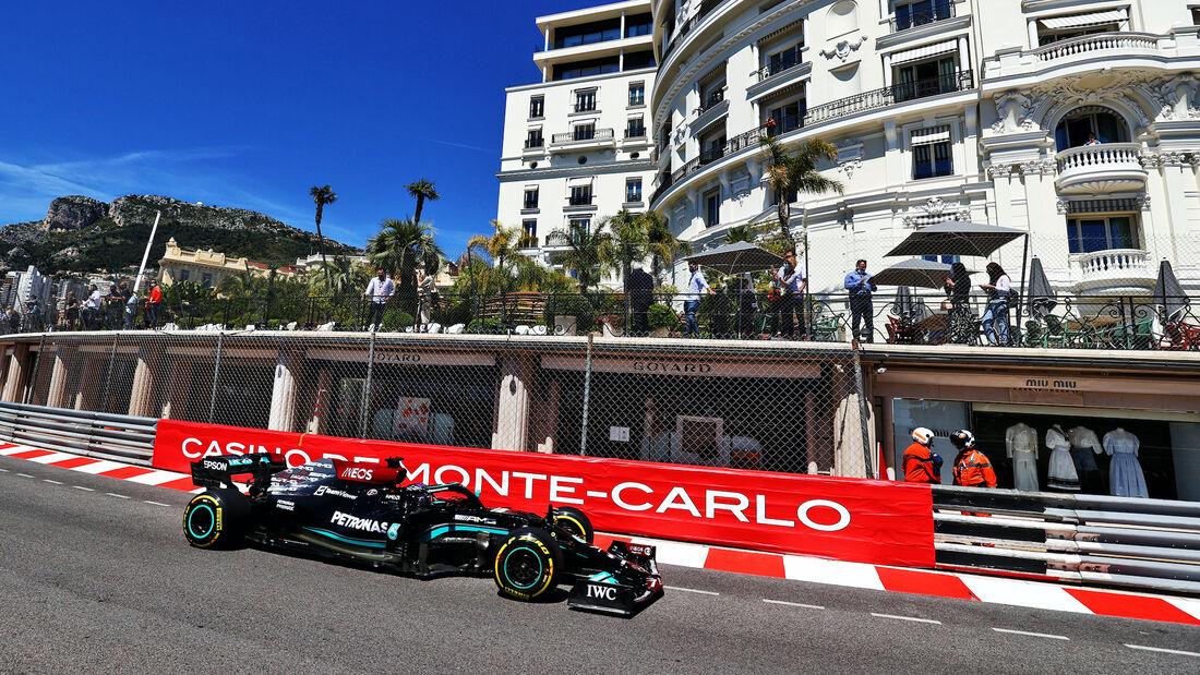 Lewis Hamilton - Mercedes - Formel 1 - GP Monaco - 20. Mai 2021