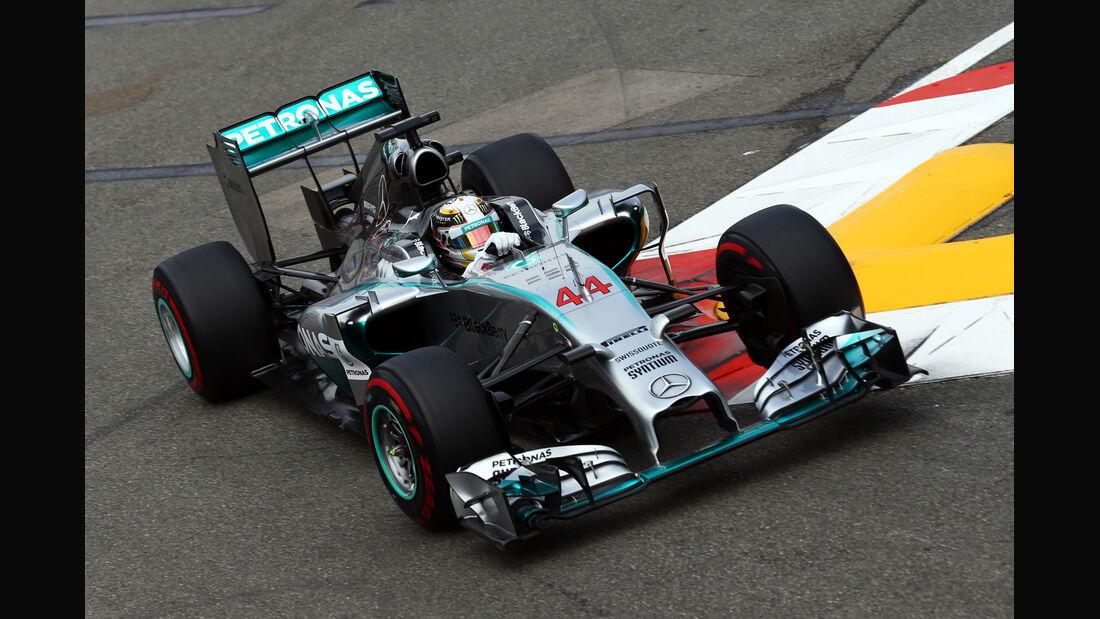 Lewis Hamilton - Mercedes - Formel 1 - GP Monaco - 22. Mai 2014