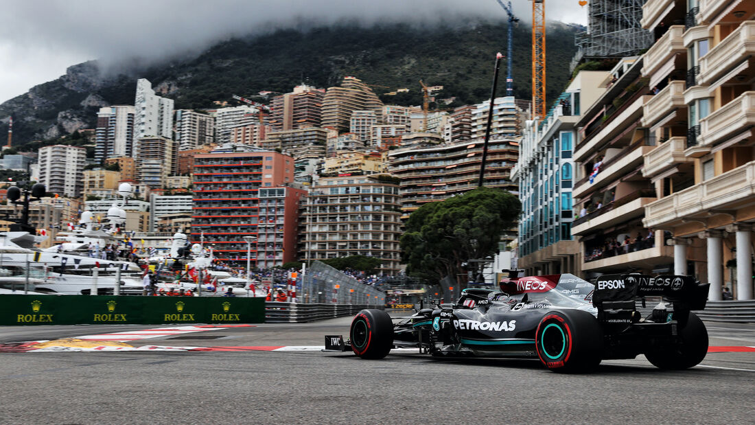 Lewis Hamilton - Mercedes - Formel 1 - GP Monaco - 22. Mai 2021