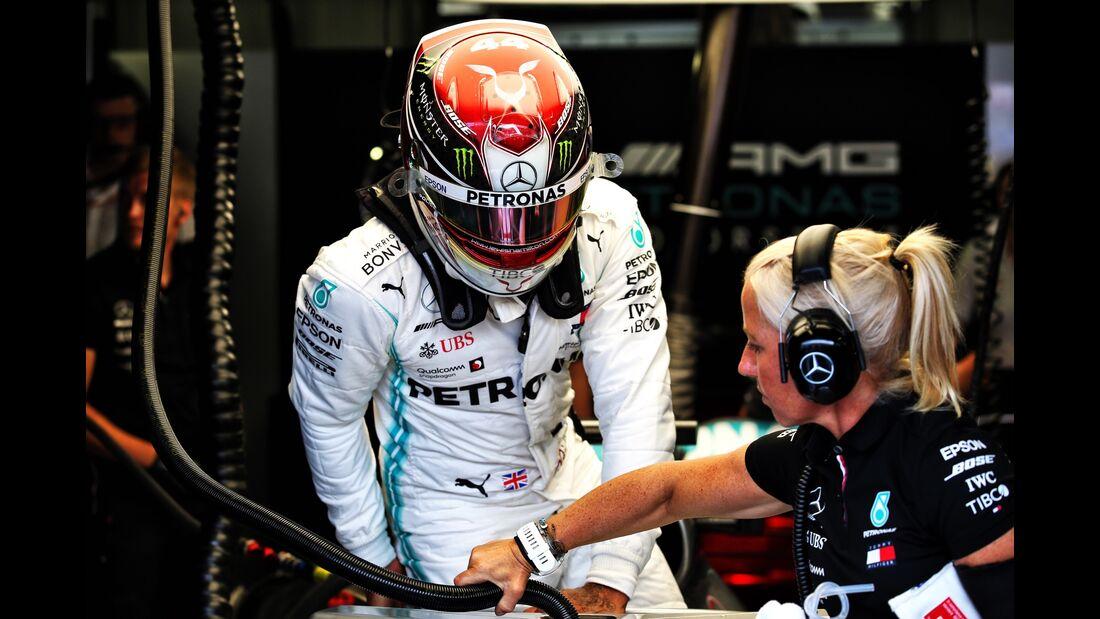 Lewis Hamilton - Mercedes - Formel 1 - GP Monaco - 23. Mai 2019