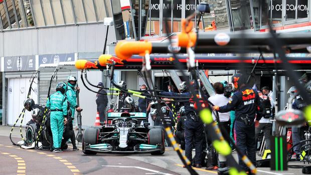 Lewis Hamilton - Mercedes - Formel 1 - GP Monaco - 23. Mai 2021