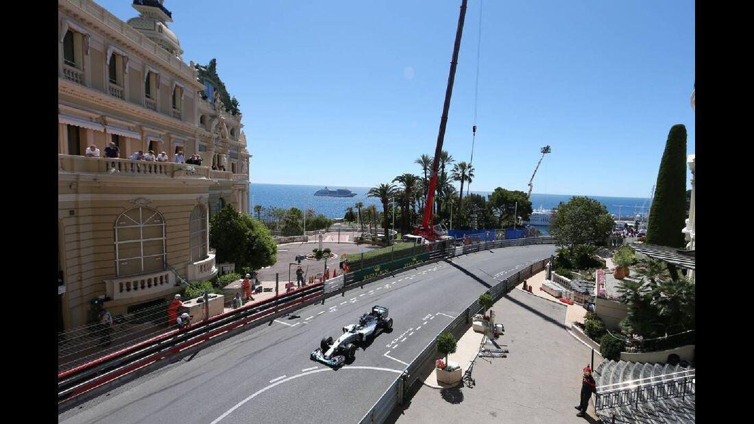Lewis Hamilton - Mercedes - Formel 1 - GP Monaco - 24. Mai 2014