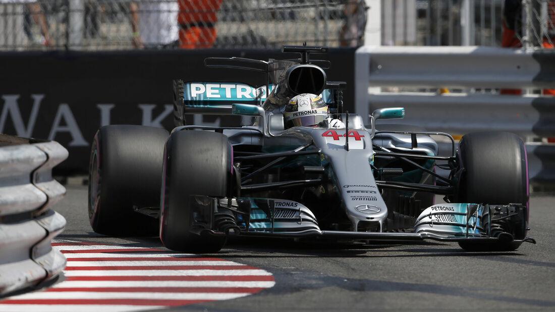 Lewis Hamilton - Mercedes - Formel 1 - GP Monaco - 27. Mai 2017