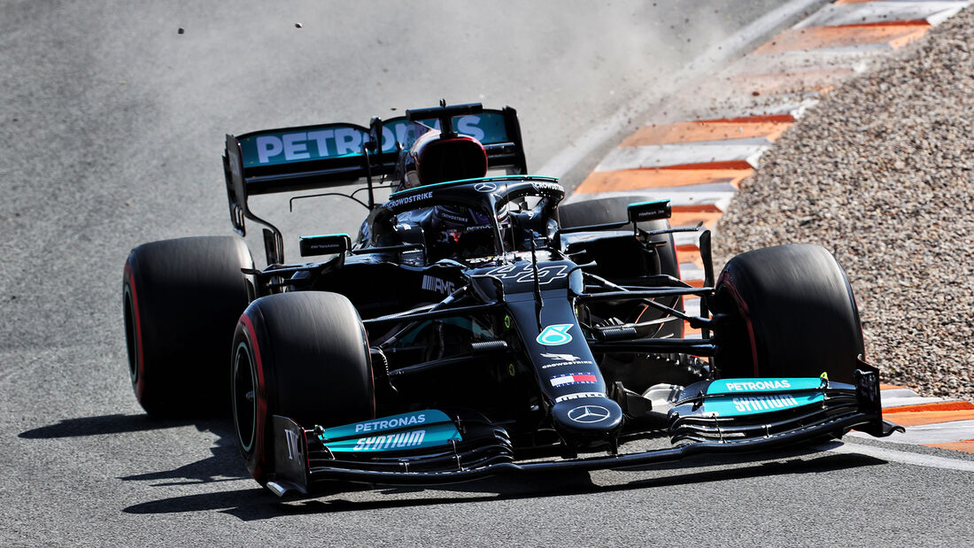 Lewis Hamilton - Mercedes - Formel 1 - GP Niederlande - 4. September 2021
