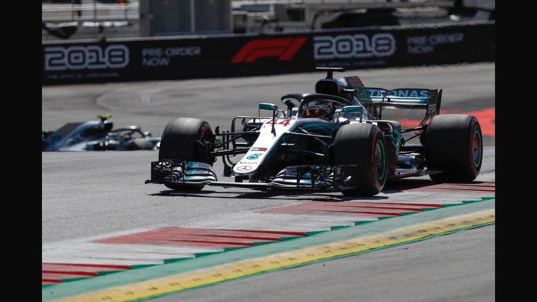 Lewis Hamilton - Mercedes - Formel 1 - GP Österreich - 1. Juli 2018