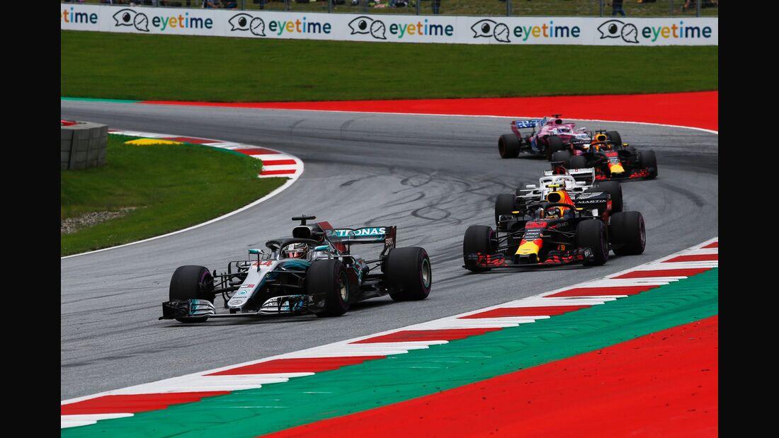 Lewis Hamilton - Mercedes - Formel 1 - GP Österreich - 29. Juni 2018