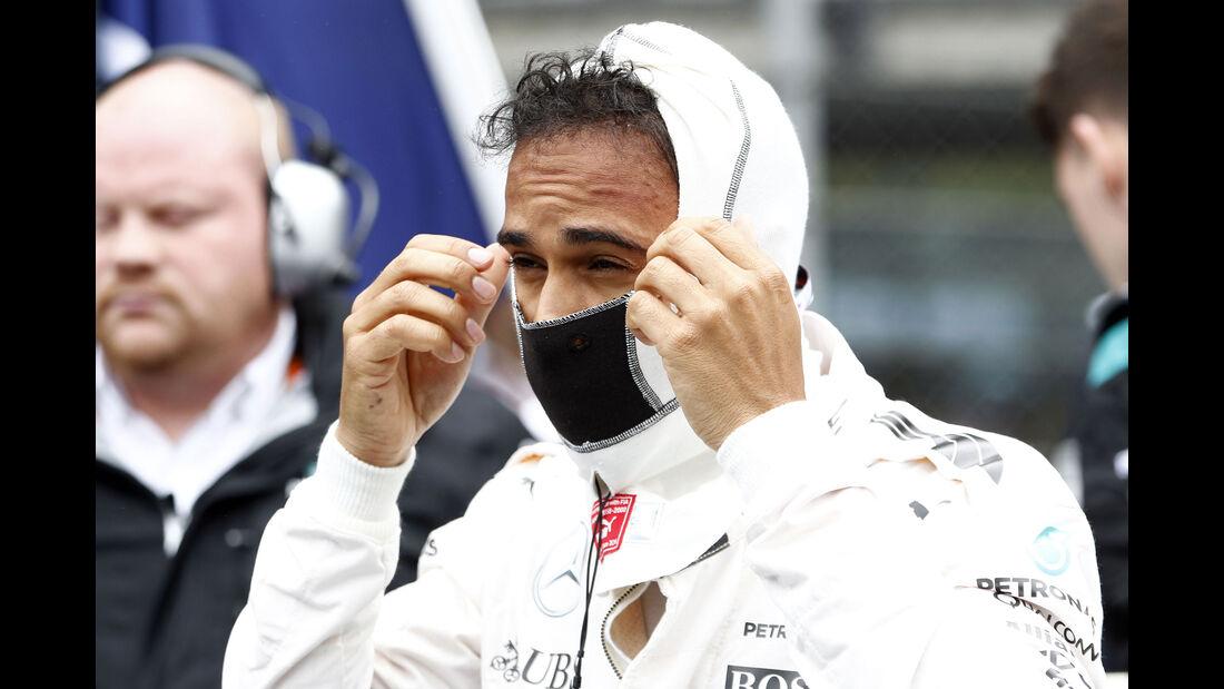 Lewis Hamilton - Mercedes - Formel 1 - GP Österreich - 3. Juli 2016