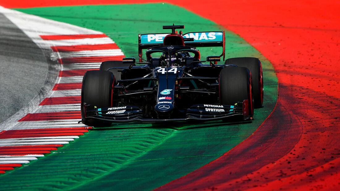 Lewis Hamilton - Mercedes - Formel 1 - GP Österreich - 4. Juli 2020
