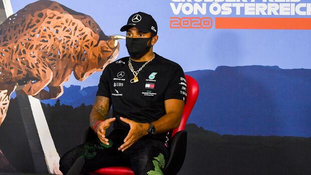 Lewis Hamilton - Mercedes - Formel 1 - GP Österreich - Spielberg - 2. Juli 2020