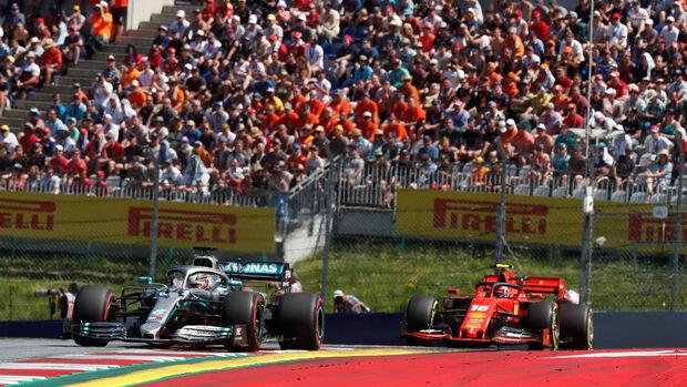 Lewis Hamilton - Mercedes - Formel 1 - GP Österreich - Spielberg - 29. Juni 2019