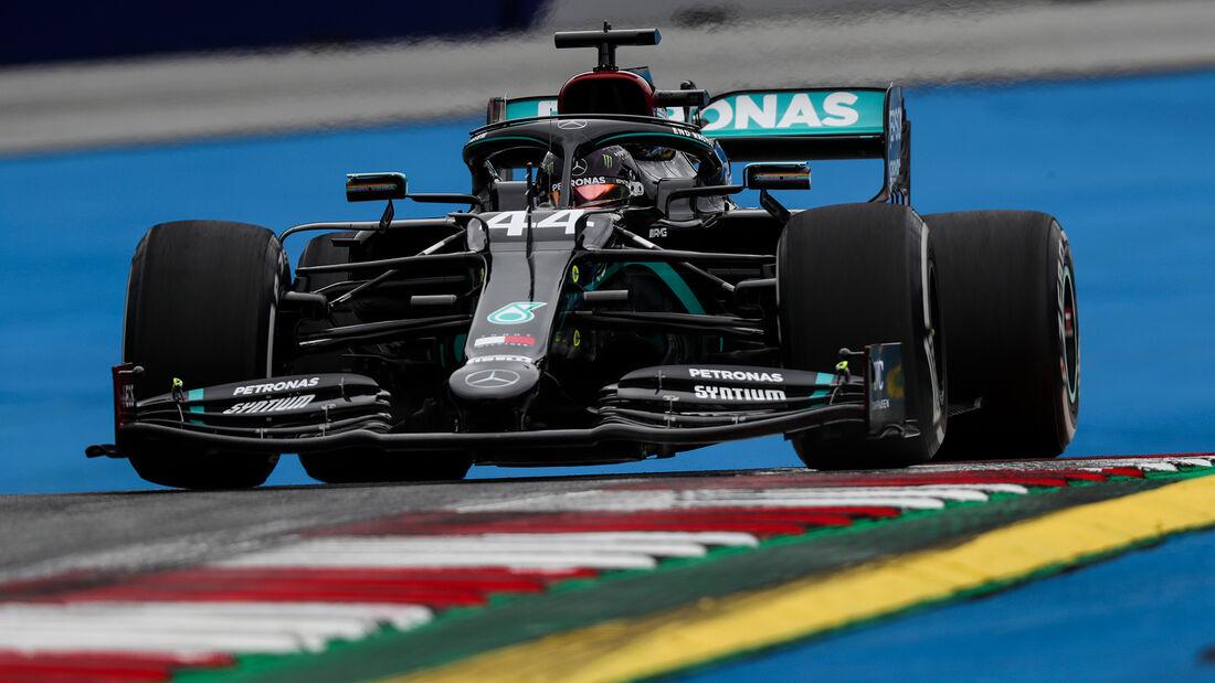 Lewis Hamilton - Mercedes - Formel 1 - GP Österreich - Spielberg - 3. Juli 2020