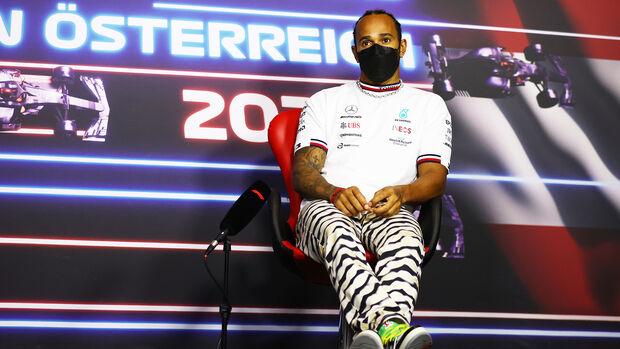 Lewis Hamilton - Mercedes - Formel 1 - GP Österreich - Spielberg - Donnerstag - 1.7.2021