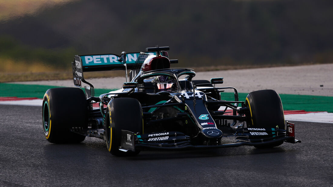 Lewis Hamilton - Mercedes - Formel 1 - GP Portugal - Portimao - 23. Oktober 2020