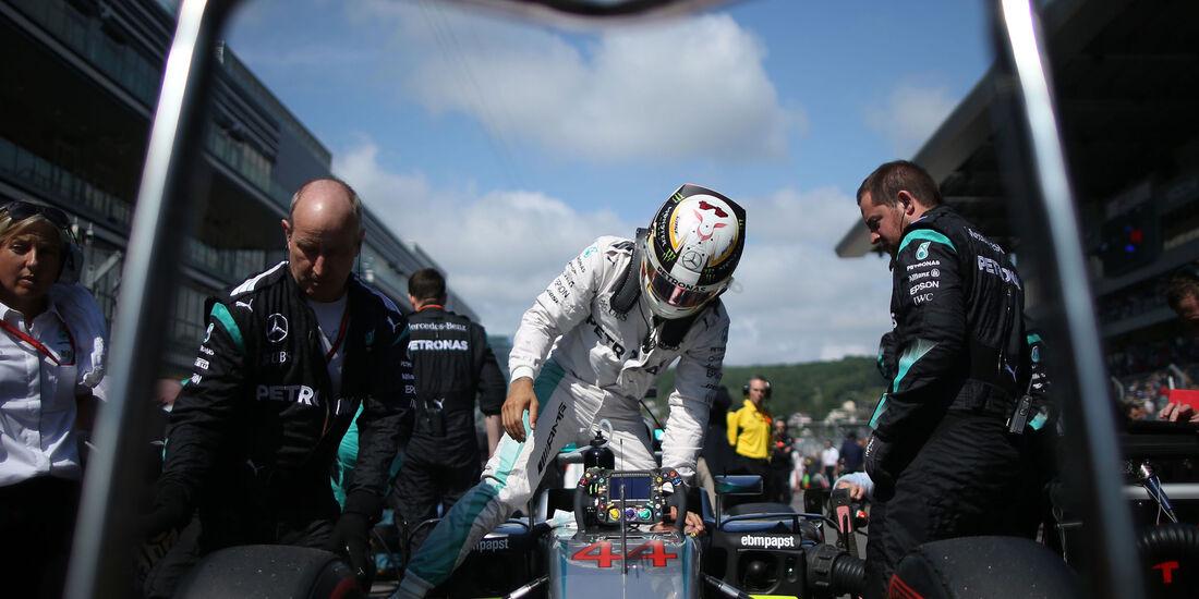 Lewis Hamilton - Mercedes - Formel 1 - GP Russland - 1. Mai 2016