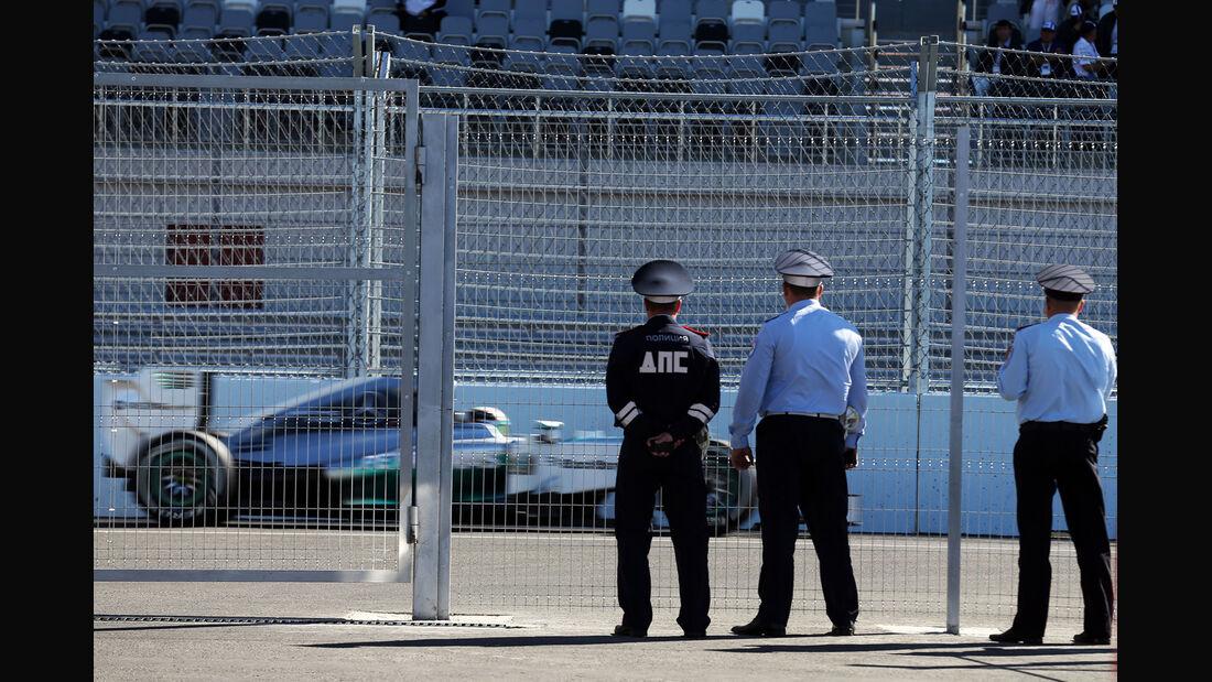 Lewis Hamilton - Mercedes - Formel 1 - GP Russland - 11. Oktober 2014