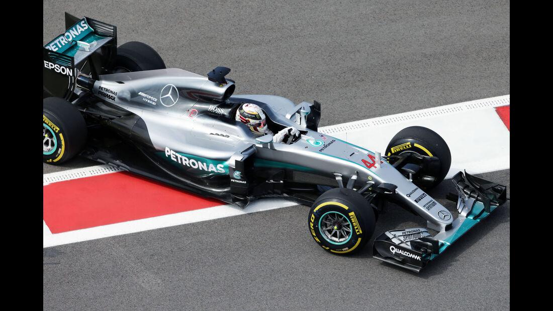 Lewis Hamilton - Mercedes - Formel 1 - GP Russland - 29. April 2016