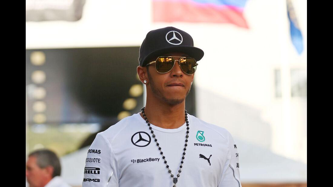 Lewis Hamilton - Mercedes - Formel 1 - GP Russland - Sochi - 9. Oktober 2014