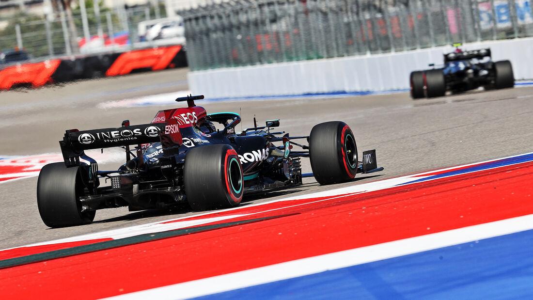 Lewis Hamilton - Mercedes - Formel 1 - GP Russland - Sotschi - 24. September 2021