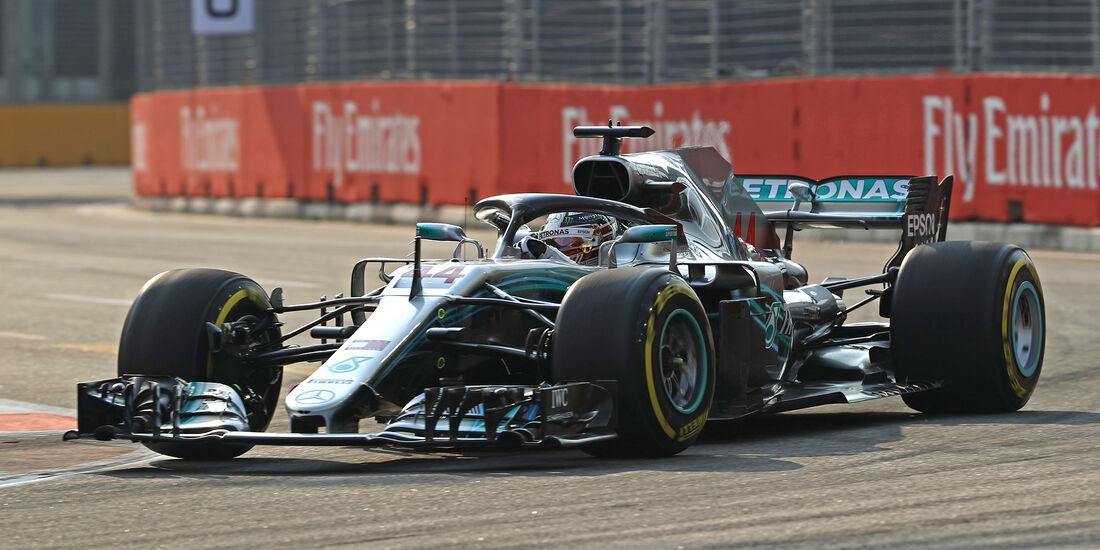 Lewis Hamilton - Mercedes - Formel 1 - GP Singapur - 14. September 2018