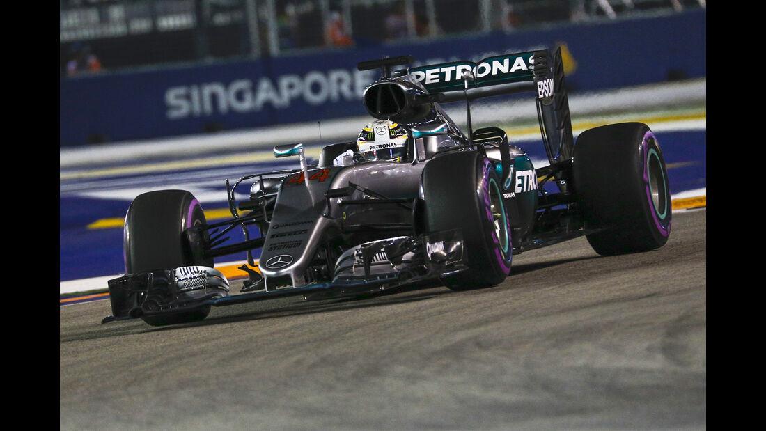 Lewis Hamilton - Mercedes - Formel 1 - GP Singapur - 17. September 2016