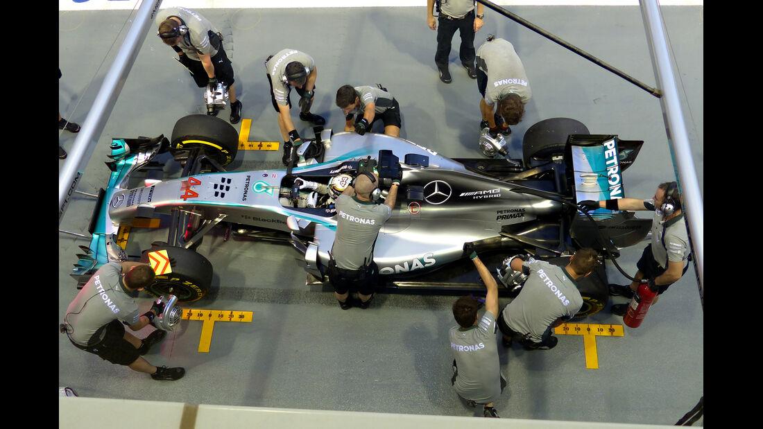 Lewis Hamilton - Mercedes - Formel 1 - GP Singapur - 19. September 2014