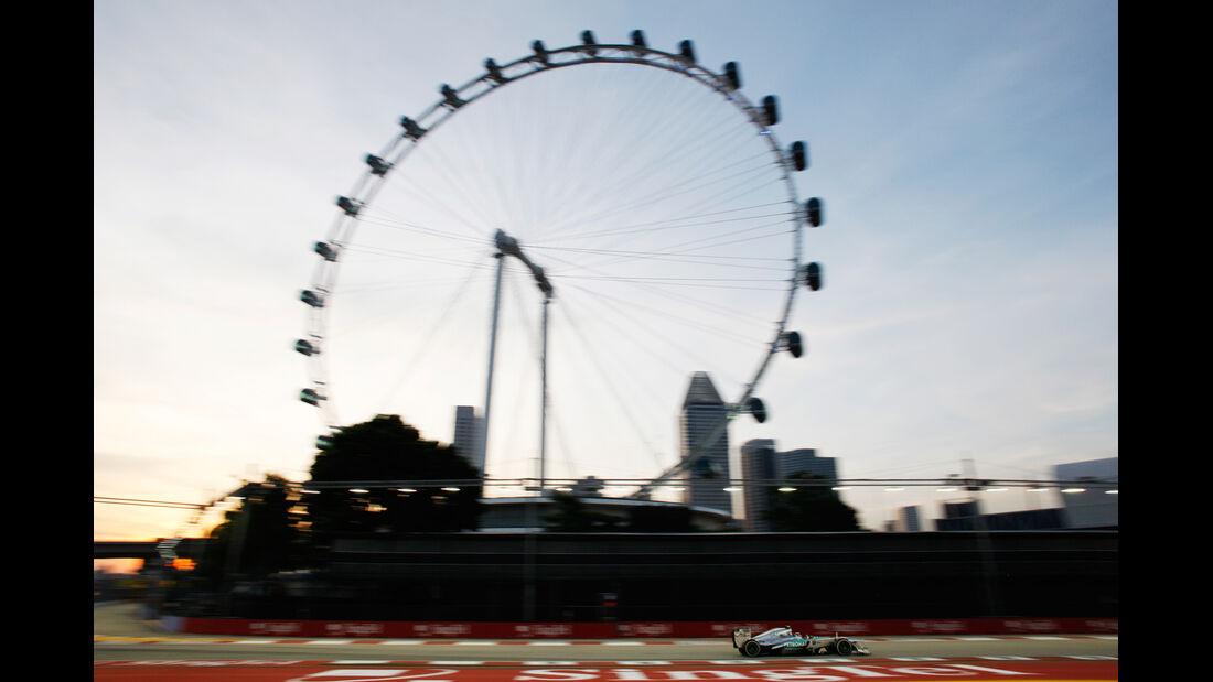 Lewis Hamilton - Mercedes - Formel 1 - GP Singapur - 20. September 2013