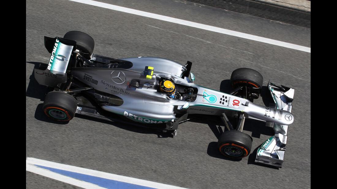 Lewis Hamilton - Mercedes - Formel 1 - GP Spanien - 10. Mai 2013