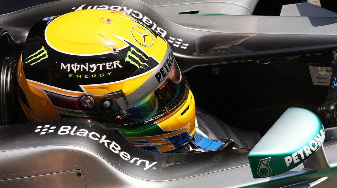 Lewis Hamilton - Mercedes - Formel 1 - GP Spanien - 11. Mai 2013