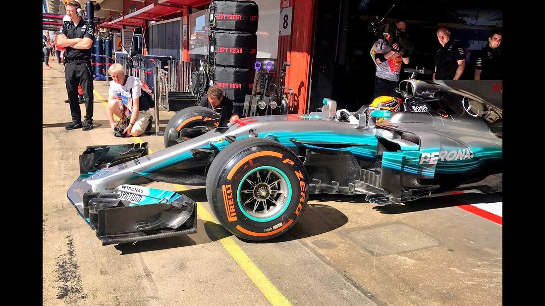 Lewis Hamilton - Mercedes - Formel 1 - GP Spanien - 12. Mai 2017