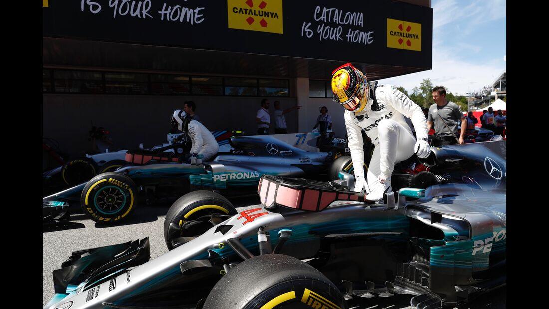 Lewis Hamilton - Mercedes - Formel 1 - GP Spanien - 13. Mai 2017