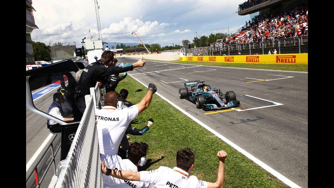 Lewis Hamilton - Mercedes - Formel 1 - GP Spanien - 14. Mai 2017