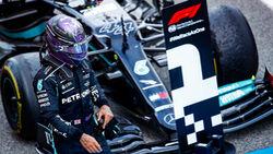 Lewis Hamilton - Mercedes - Formel 1 - GP Spanien 2021 - Barcelona - Rennen