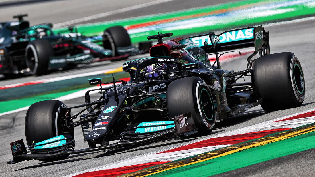 Lewis Hamilton - Mercedes - Formel 1 - GP Spanien - 7. Mai 2020