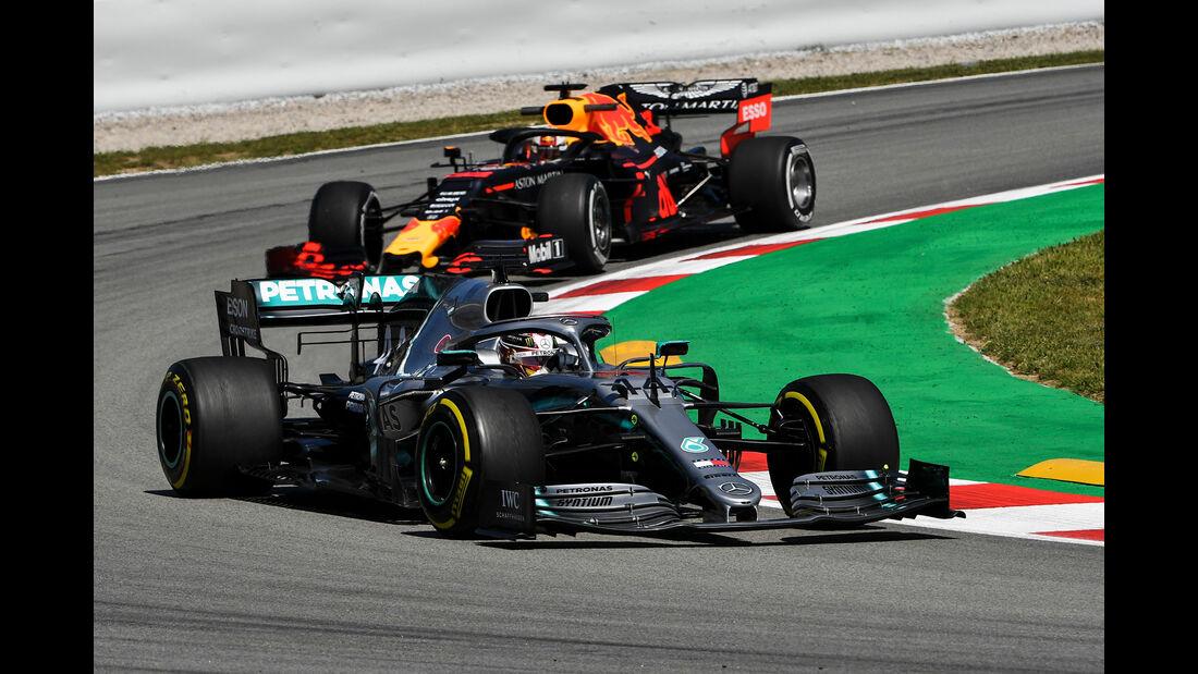 Lewis Hamilton - Mercedes - Formel 1 - GP Spanien - Barcelona - 10. Mai 2019
