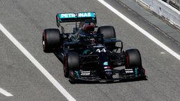 Lewis Hamilton - Mercedes - Formel 1 - GP Spanien - Barcelona - 14. August 2020