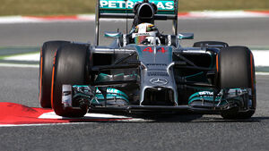 Lewis Hamilton - Mercedes - Formel 1 - GP Spanien - Barcelona