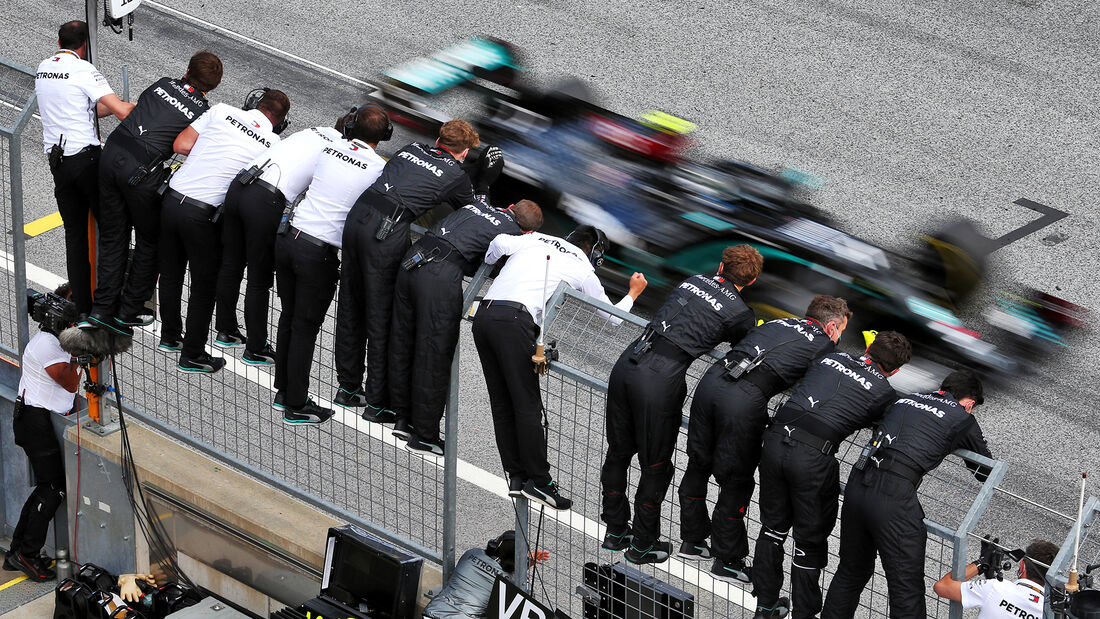 Lewis Hamilton - Mercedes - Formel 1 - GP Steiermark 2020 - Spielberg - Rennen