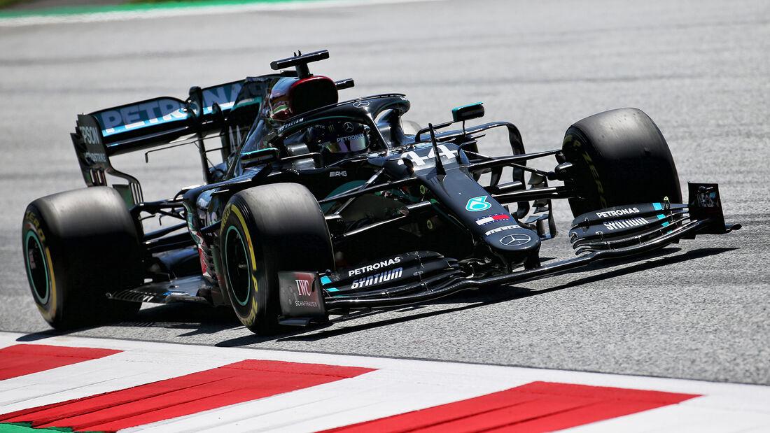 Lewis Hamilton - Mercedes - Formel 1 - GP Steiermark - Österreich - Spielberg - 10. Juli 2020