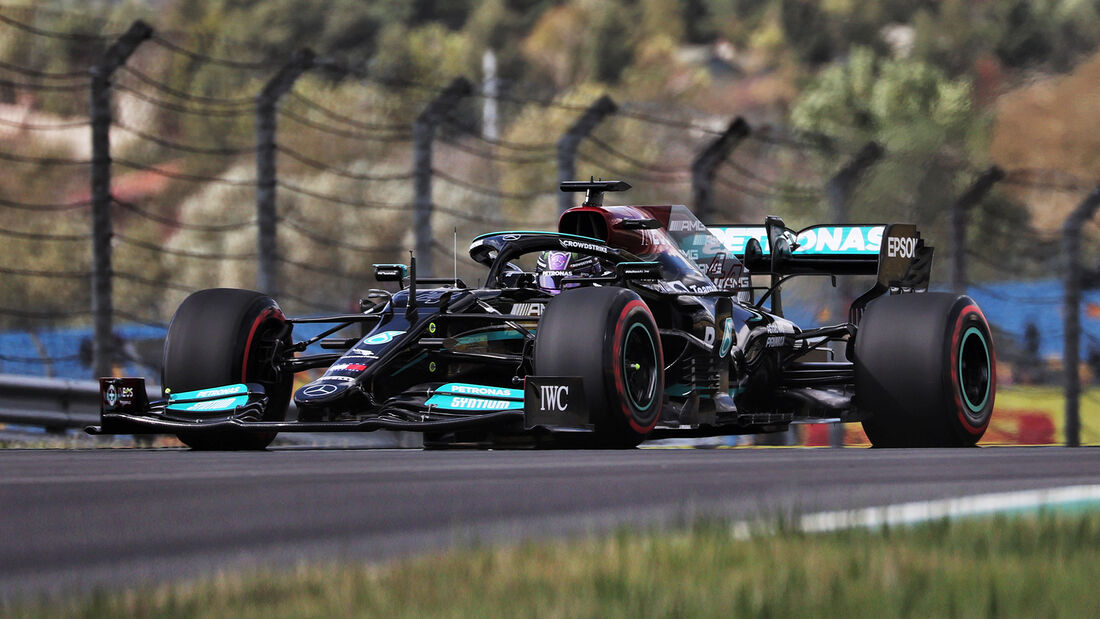 Lewis Hamilton - Mercedes - Formel 1 - GP Türkei - Istanbul - 8. Oktober 2021