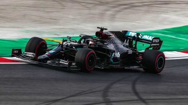 Lewis Hamilton - Mercedes - Formel 1 - GP Türkei - Istanbul - Freitag - 13.11.2020