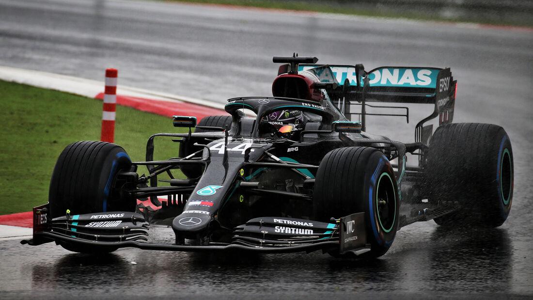 Lewis Hamilton - Mercedes - Formel 1 - GP Türkei - Istanbul - Samstag - 14.11.2020