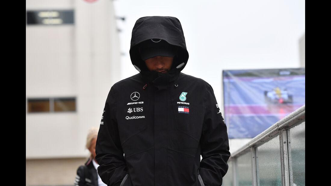 Lewis Hamilton - Mercedes - Formel 1 - GP USA - 19. Oktober 2018