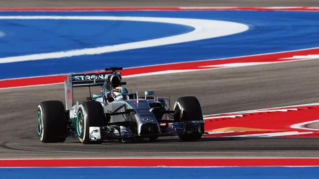 Lewis Hamilton - Mercedes  - Formel 1 - GP USA - 31. Oktober 2014