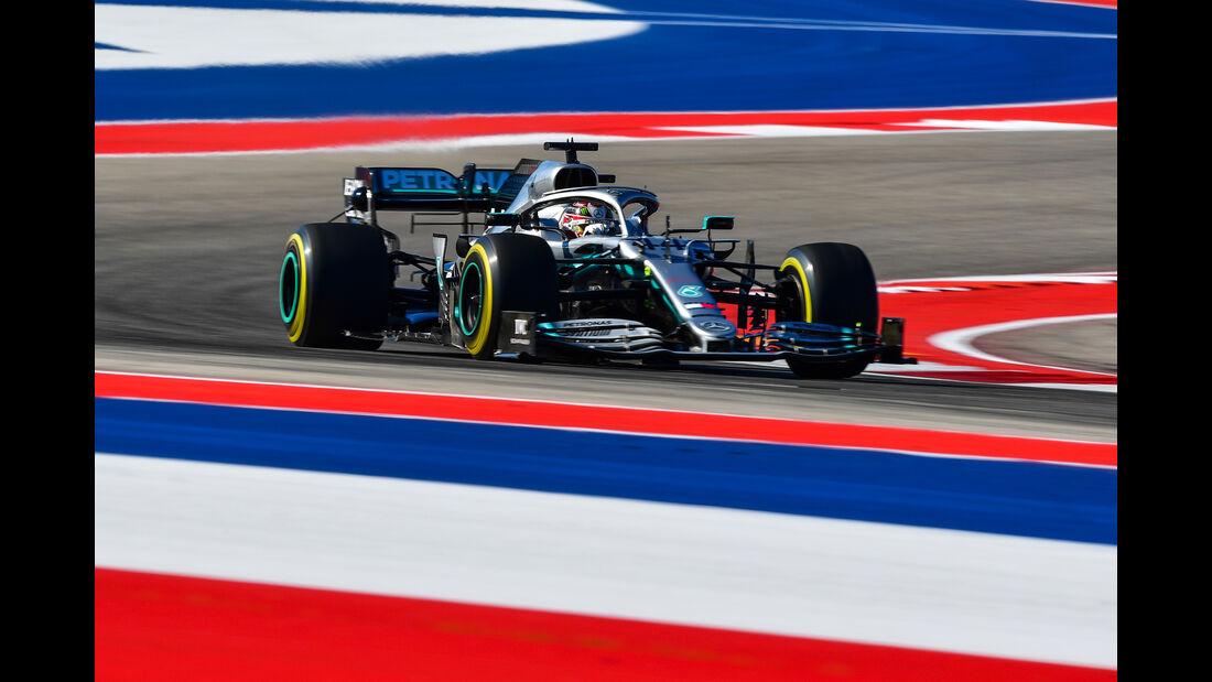 Lewis Hamilton - Mercedes - Formel 1 - GP USA - Austin - 1. November 2019