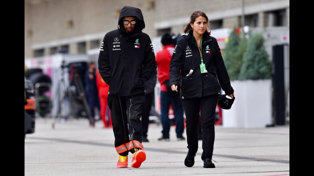 Lewis Hamilton - Mercedes - Formel 1 - GP USA - Austin - 18. Oktober 2018