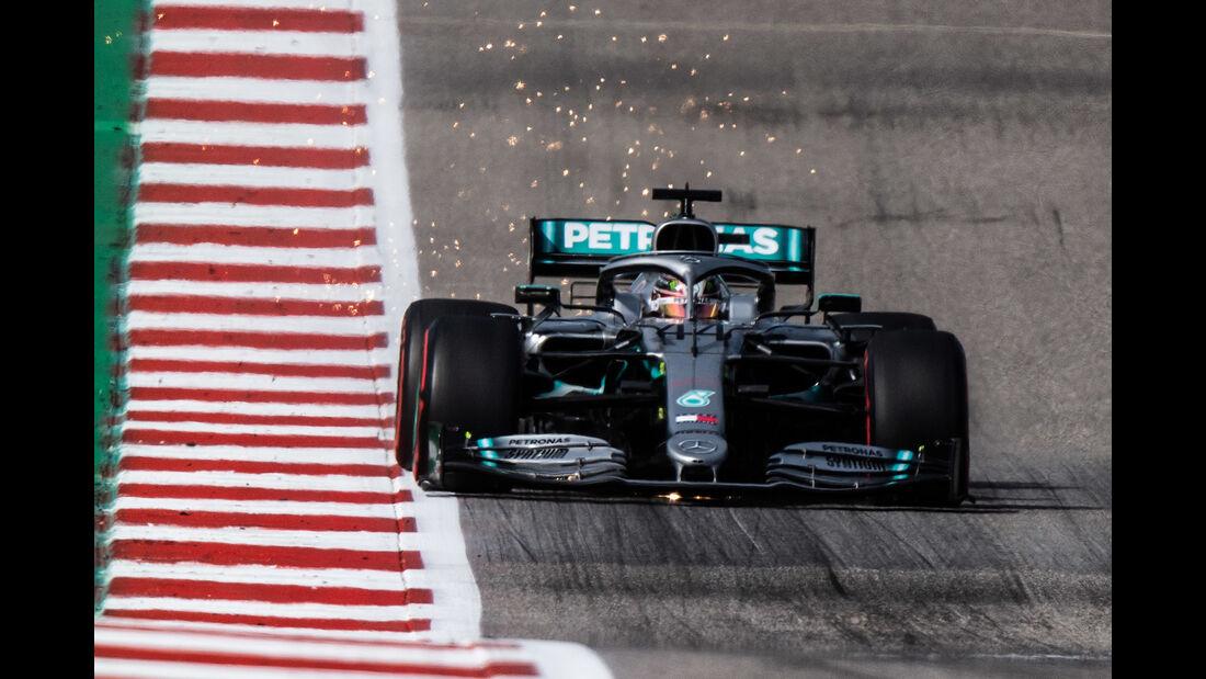 Lewis Hamilton - Mercedes  - Formel 1 - GP USA - Austin - 2. November 2019