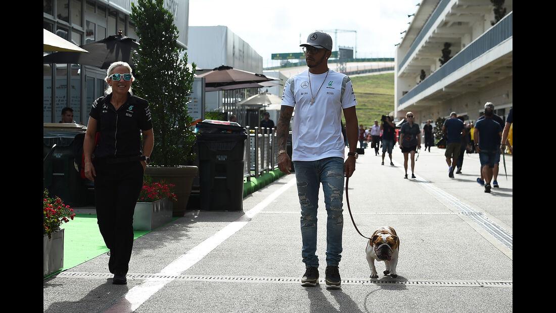 Lewis Hamilton - Mercedes - Formel 1 - GP USA - Austin - 20. Oktober 2016
