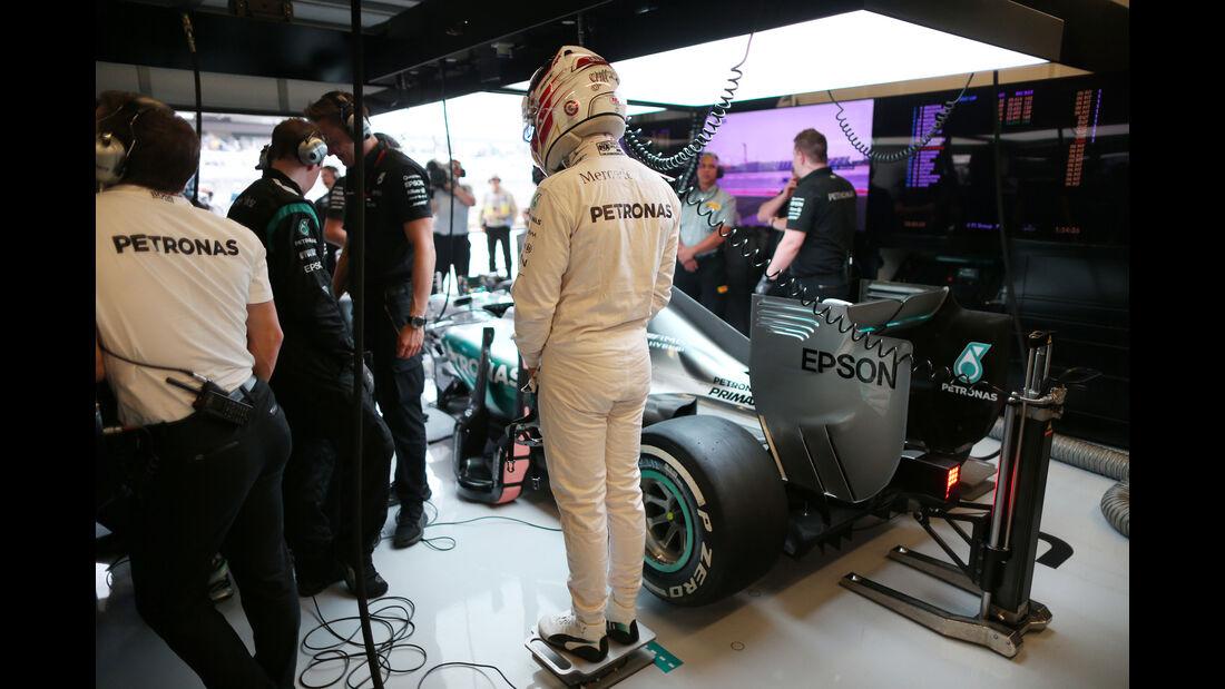 Lewis Hamilton - Mercedes - Formel 1 - GP USA - Austin - 23. Oktober 2015